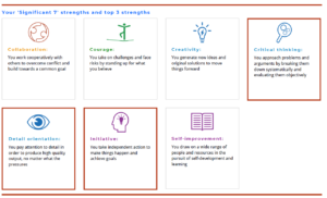 Significant strengths